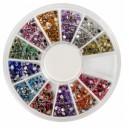 Ruedas de Piedras Decorativas 13 - Redondo 2 mm
