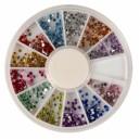 Ruedas de Piedras Decorativas 15 - Redondo 1,5 mm