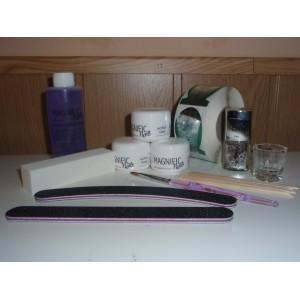 Kit para principiantes uñas de acrilico o porcelana