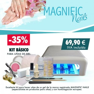 Kit Basico de  uñas de gel