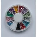 Ruedas de Piedras Decorativas 14 - Redondo 2,5 mm