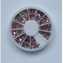 Ruedas de Piedras Decorativas 16 - Redondo Mixto