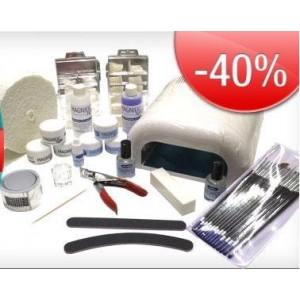 Kit uñas de gel, acrilico y acrigel ,Todo en un solo kit